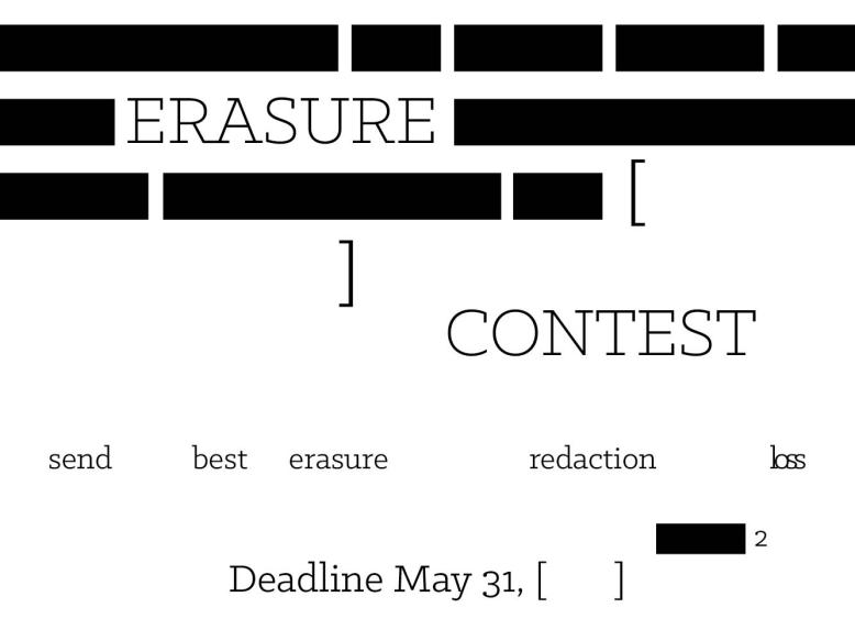 erasure contest
